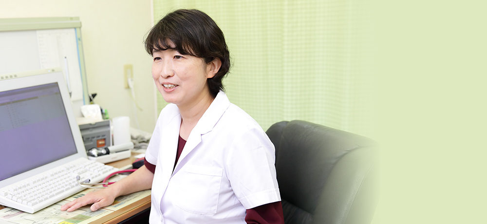女性小児専門医による小児科診療